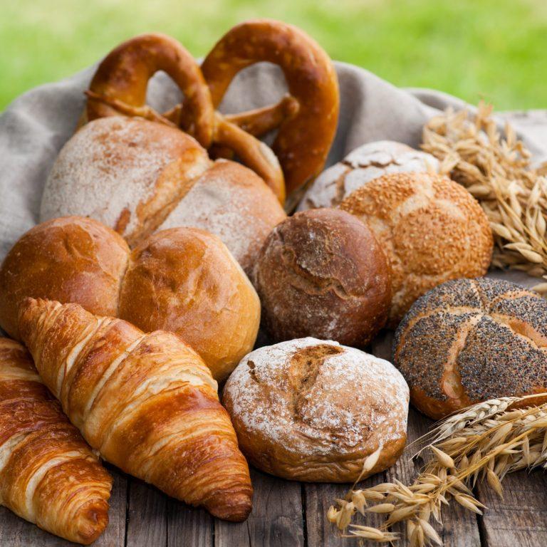 Backwaren, Frühstück, Brötchen,